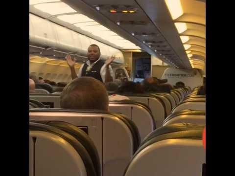 Frontier Airlines Crew Dance
