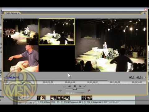 How to multi camera edit in Premiere Pro CS3