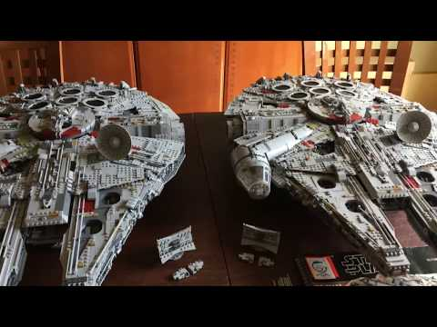 11:05 NOW PLAYING Lego #75192 vs Lepin 05132 UCS Millennium Falcon Part Four