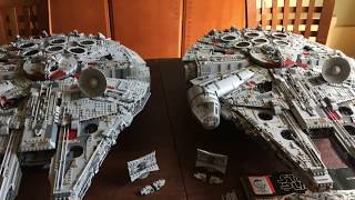 Lego #75192 vs Lepin 05132 UCS Millennium Falcon Part Four