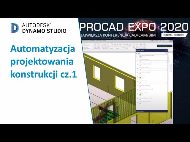 Automatyzacja projektowania konstrukcji cz.1 | PROCAD EXPO