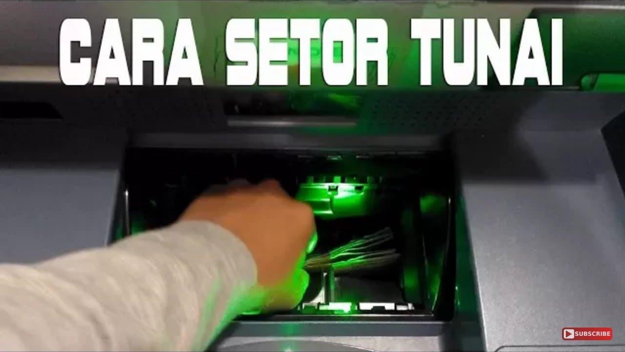 Cara Setor Tunai / Menabung Lewat Mesin CDM di Bank Mandiri by ...