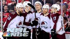 NHL Stanley Cup Playoffs 2019: Avalanche vs. Flames | Game 5 Highlights | NBC Sports