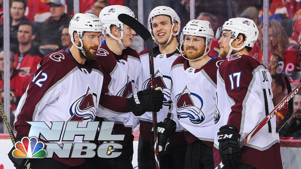 NHL Playoffs: Colorado Avalanche close out series with Calgary Flames