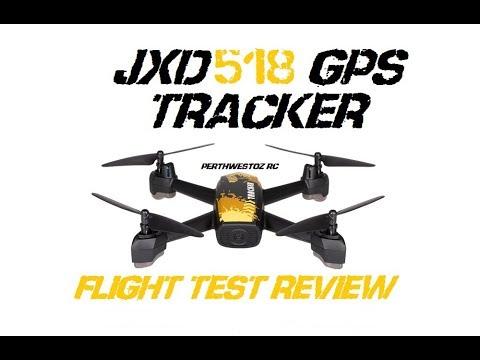 JXD 518 GPS TRACKER DRONE Flight Test Review