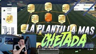 LA PLANTILLA MÁS CHETADA DE FIFA 17