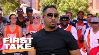 Andre Ward doesn't see Mayweather-McGregor going past 6 rounds | First Take | ESPN