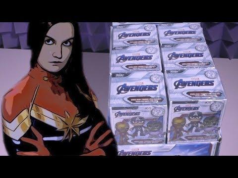 Мстители: Финал - секретные фигурки + костюм Капитан Марвел