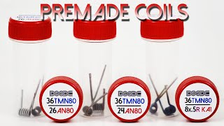 Pre-Made Coils by Squidoode - Specs & Installation How To