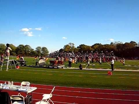 10/17/2010 Governor Livingston High School Highlander Marching Band TOB Pageant Intro