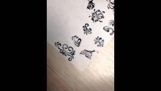 Мк как рисовать розы . Розы на ногтях(, 2015-07-04T16:58:04.000Z)