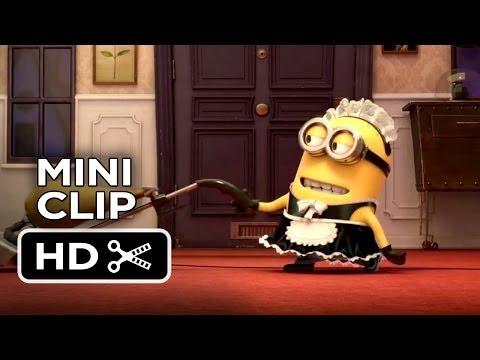 Despicable Me 2 Mini CLIP - Minion Maid Phil (2013) - Steve Carell Sequel HD