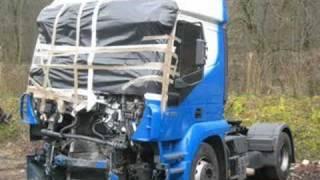 big trucks big crash