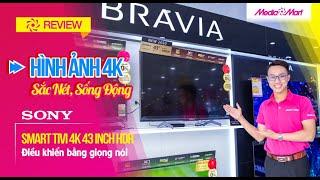 Smart Tivi 4K Sony 43 inch KD-43X8500H 4K HDR - Đa dạng với hơn 5000 ứng dụng