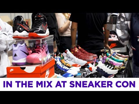 Here's What It Is Like At Sneaker Con