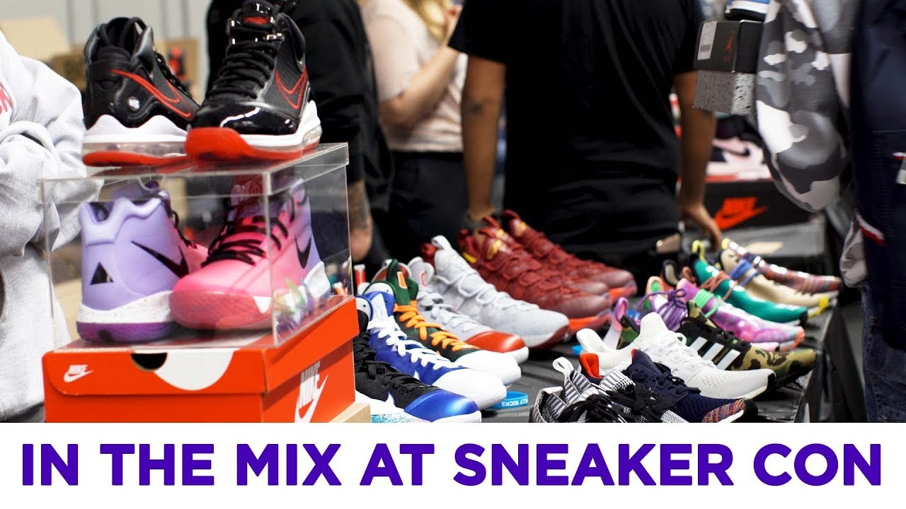 skiss Huvudkontor Enorm  Here's what it is like at Sneaker Con - YouTube