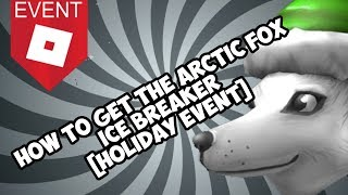 How to get the Arctic Wolf [ROBLOX EVENT]
