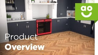 NewWorld Range Cooker Vision 90E RD Product Overview | ao.com