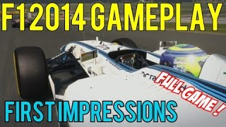f1 2014 gameplay first impressions austria red bull ring 25 legend ai full game