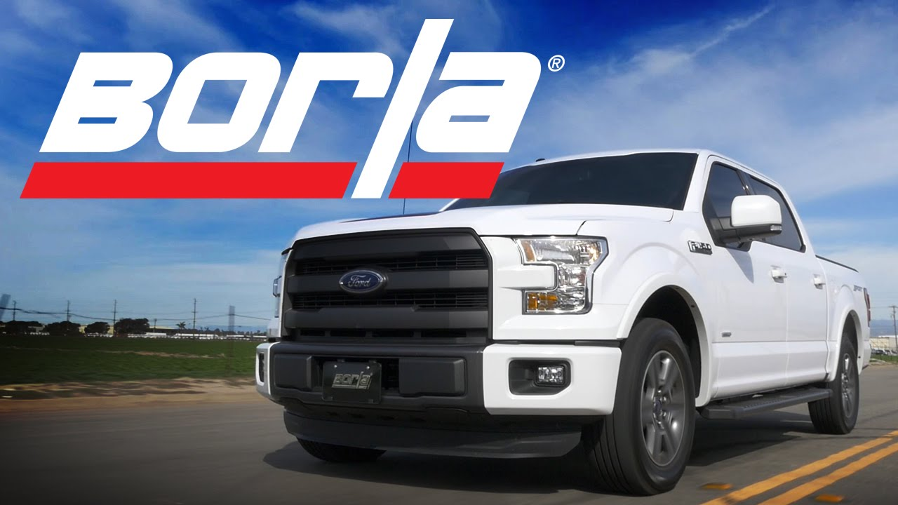 borla exhaust for 2015 2020 f 150 2 7l ecoboost trucks exhaust system sounds