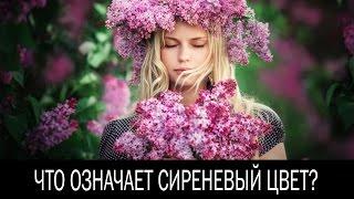 видео Фиолетовый цвет в психологии