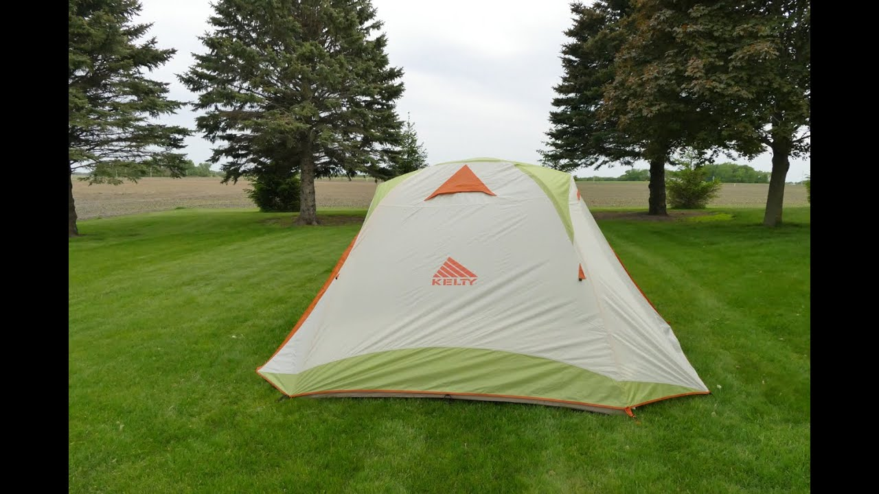 Kelty Trail Ridge 6 Family C&ing Tent & Kelty Trail Ridge 6 Family Camping Tent - YouTube