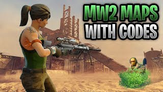 Best MW2 Maps In Fortnite With Codes *MUST PLAY* feat. Rust, Terminal & Highrise