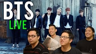 bts live   bs x am i wrong x 21st century girl reactions