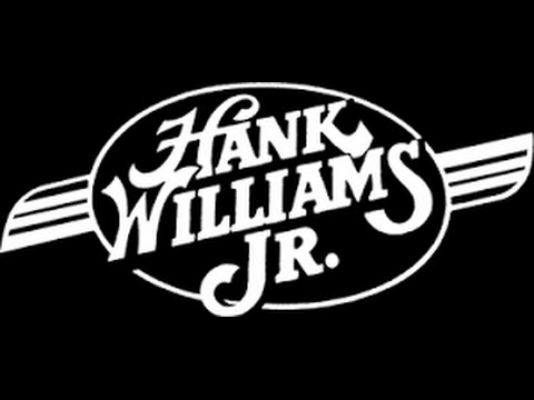 Hank Williams Jr - All My Rowdy Friends (Have Settled Down) Lyrics on screen