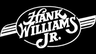 hank williams jr all my rowdy friends have settled down lyrics on screen