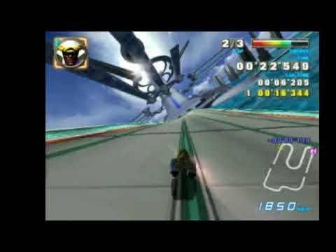 "F-Zero GX Snaking - Big Blue Drift Highway 42""896 With Iron Tiger"