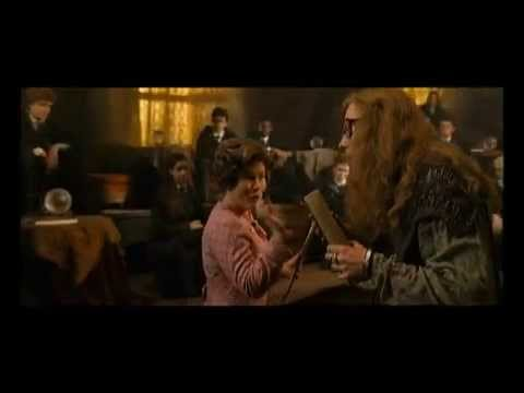 Harry Potter Dolores Umbridge deleted scene! funny :) YouTube from YouTube · Duration:  2 minutes 24 seconds