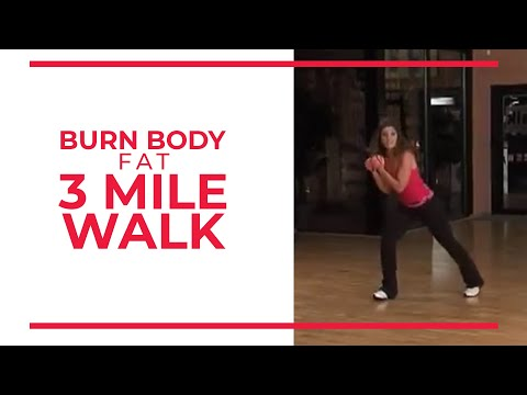 Burn Body Fat 3 Mile | Leslie Sansone's Walk at Home