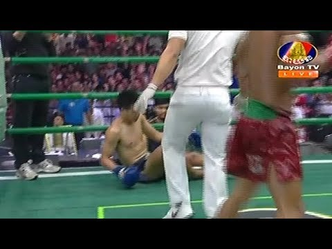 Chhoeun Chhaiden vs Chhormdeth(thai), Khmer Boxing Bayon 18 March 2018, Kun Khmer vs Muay Thai