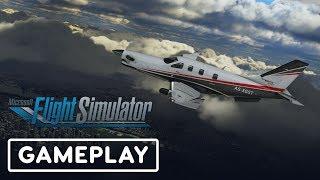 Microsoft Flight Simulator - Taking Off Gameplay