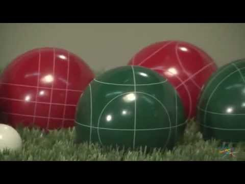 trademark games 100mm bocce ball set product review video