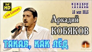 Live Concert/ Аркадий КОБЯКОВ - Такая, как лед (Татарск, 16.05.2015)