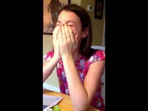 Selena Gomez surprise!! Precious reaction. http://bit.ly/2Z6ay3A