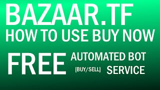 TF2: Bazaar.tf: How to use the Buy Now Feature