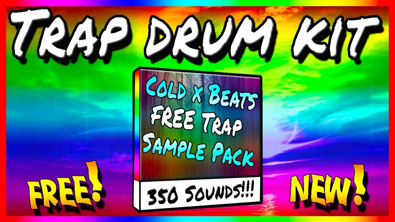 FREE TRAP SAMPLE PACK/DRUM KIT - COLD X BEATS 350+ SOUNDS DOWNLOAD!!!! 2000  SUBSCRIBER SPECIAL