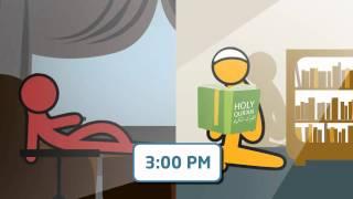 [ProductiveRamadan] ProductiveMuslim Animation 11: Ramadan is the Month of Worship NOT Sleep!!