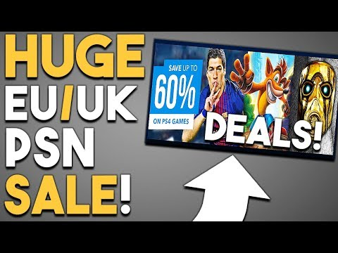 HUGE EU/UK PSN Store SALE and INSANE Deal on GREAT PS4 Game!