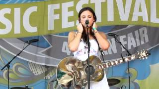 "Rose Falcon ""Take Me To Memphis"" and ""You Stole My Heart"" 2012 CMA Music Festival"