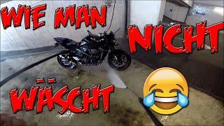 Motorrad waschen | Fail!? | Walkaround | Sound
