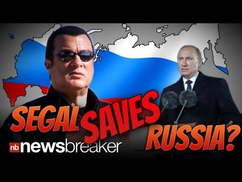 SEAGAL SAVES RUSSIA? Vladimir Putin Teams with Hollywood Action Star