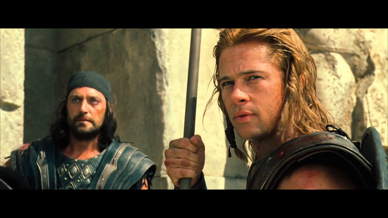 Troy - Spear Throw #Clip - Achilles [1080p Blu-Ray]