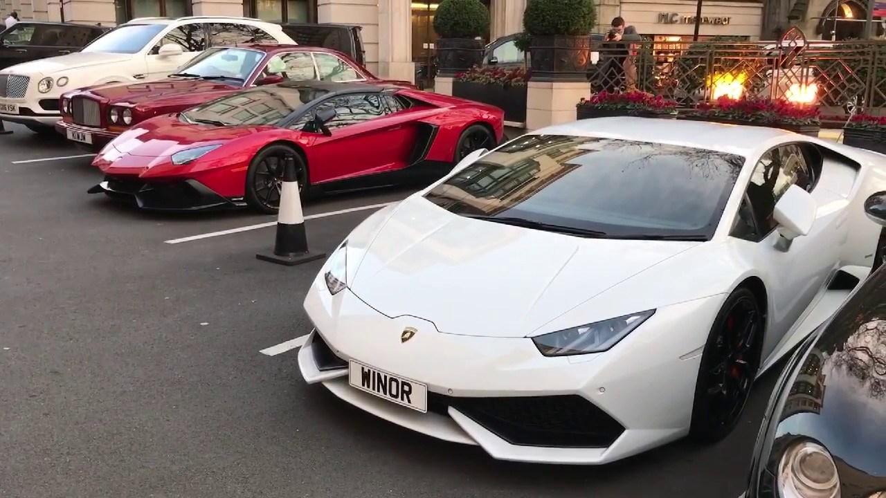 Supercars In London Youtube