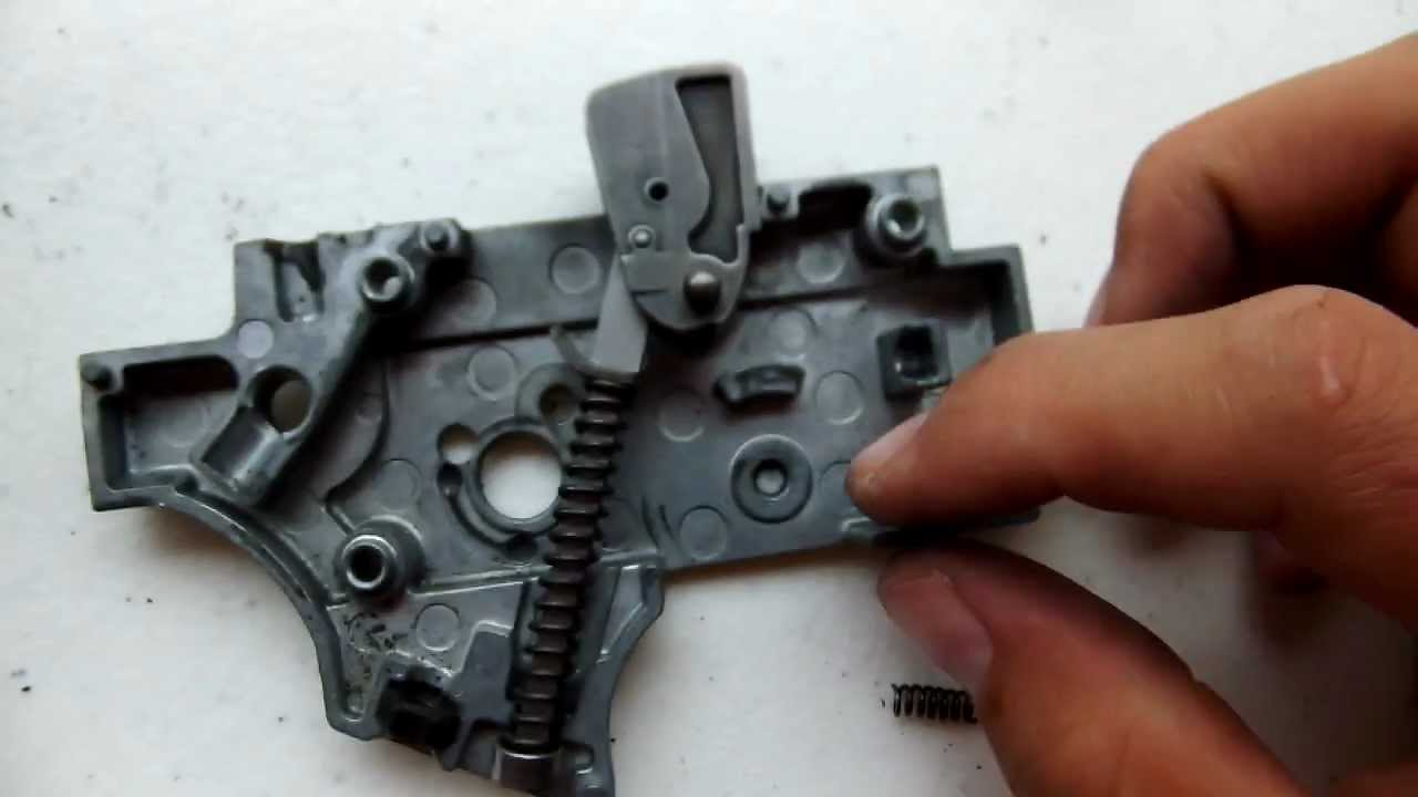 How To Disassemble An Hk 416 D Trigger Hd