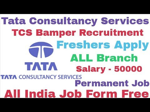 Tata Consultancy Services TCS Recruitment For Freshers