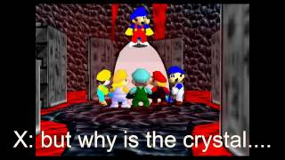 super mario 64 bloopers: Crystal funhouse